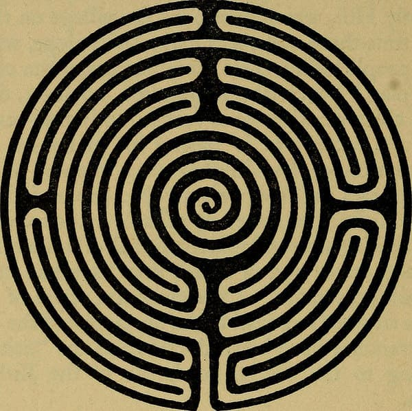 mindfulness meditation at midlife+labyrinth