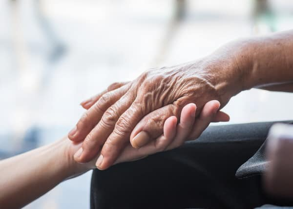dementia and pleas to go home+hands