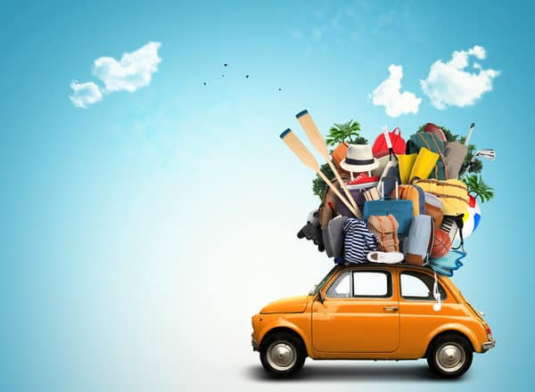 retirement income planning for women+belongings-tiny-car
