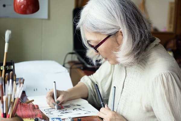 retirement transition+learing-to-draw