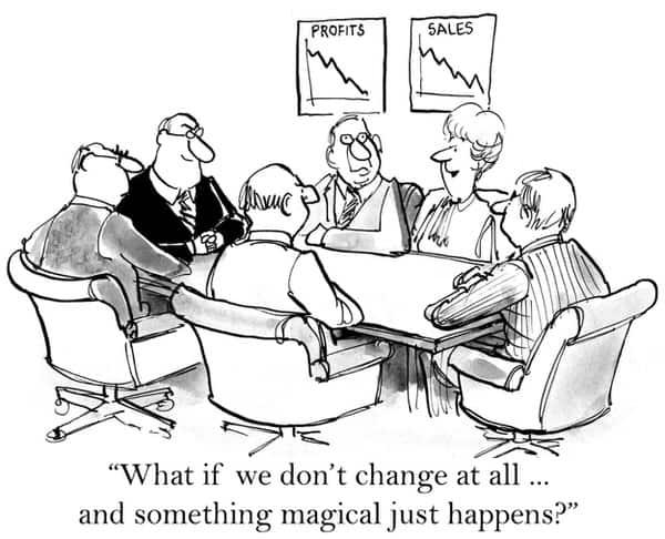 decide about LTC insurance+cartoon