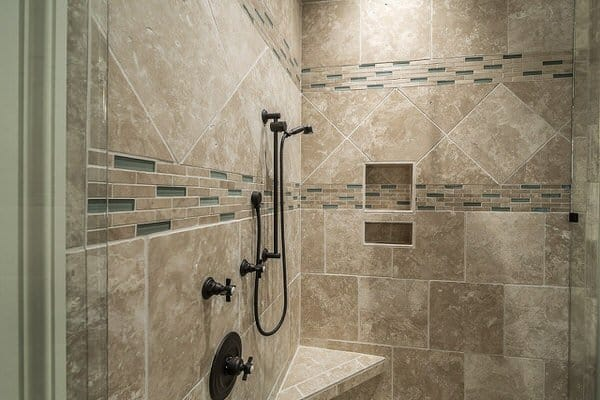 universal design myths+tiled-shower