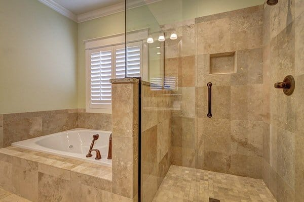 prepare your bathroom to age in place+shower-wide-door