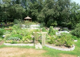 garden Windsong cohousing