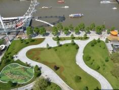 Aerial View of Jubilee Gardens