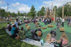 Jubilee Gardens Playground South Bank London