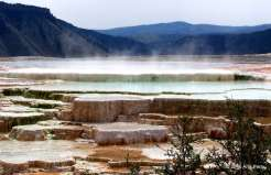 New Blue Springs, Mammoth Springs - Yellowstone National Park, WY
