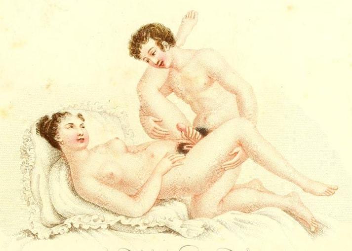 ilustratii erotice vechi