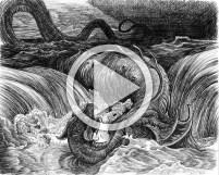 Judah Draws Dore's Leviathan