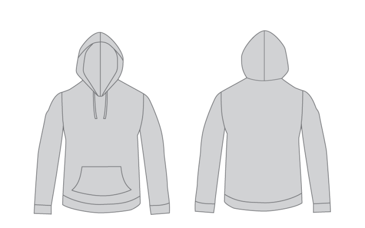 Free Hoodie Template from Judah Creative a Graphic Design & Illustraiton Studio near Branson & Springfield, MO.