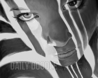 121413 Digital Painting #3: Face, Light & Dark: Phase 3 by Judah Fansler, Artist & Owner at Judah Creative, a full service graphic design & Illustration studio near Branson, MO & Springfield, MO