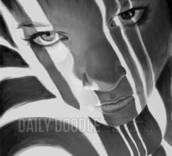 121413 Digital Painting #3: Face, Light & Dark: Phase 3 by Judah Fansler, Artist & Owner at Judah Creative, a full service graphic design & Illustration studio near Branson, MO & Springfield, MO