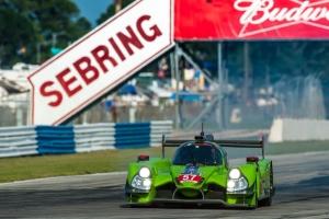 Krohn Racing Ligier Judd HK LMP2 claims Pole position at Sebring