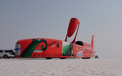 CMR Bonneville land speed record attempt with Judd Power