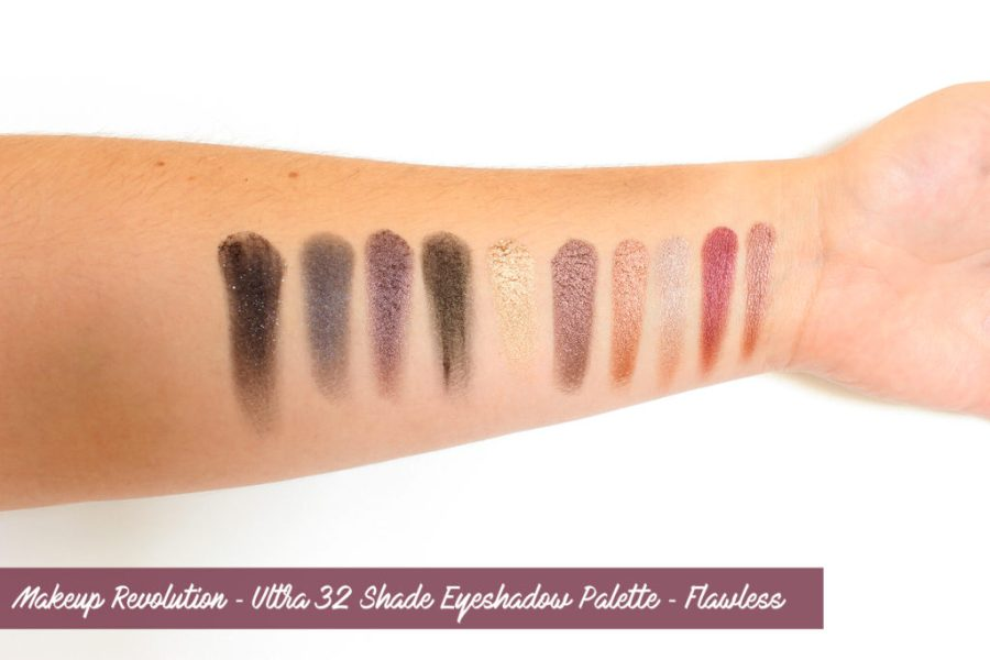 Make Up Revolution ✻ Flawless Swatches