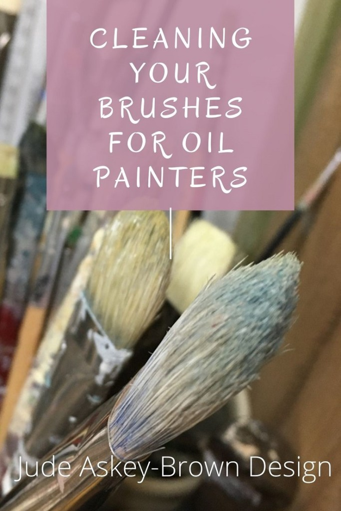Cleaning Brushes for Oil Painters