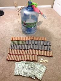 Change for Change brought in $467.00