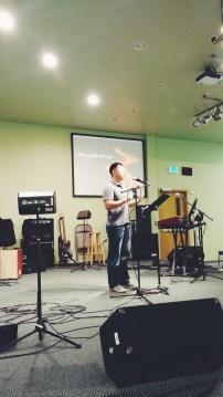 Daniel speaking on NEasia