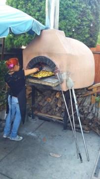 Outdoor Brick Oven!