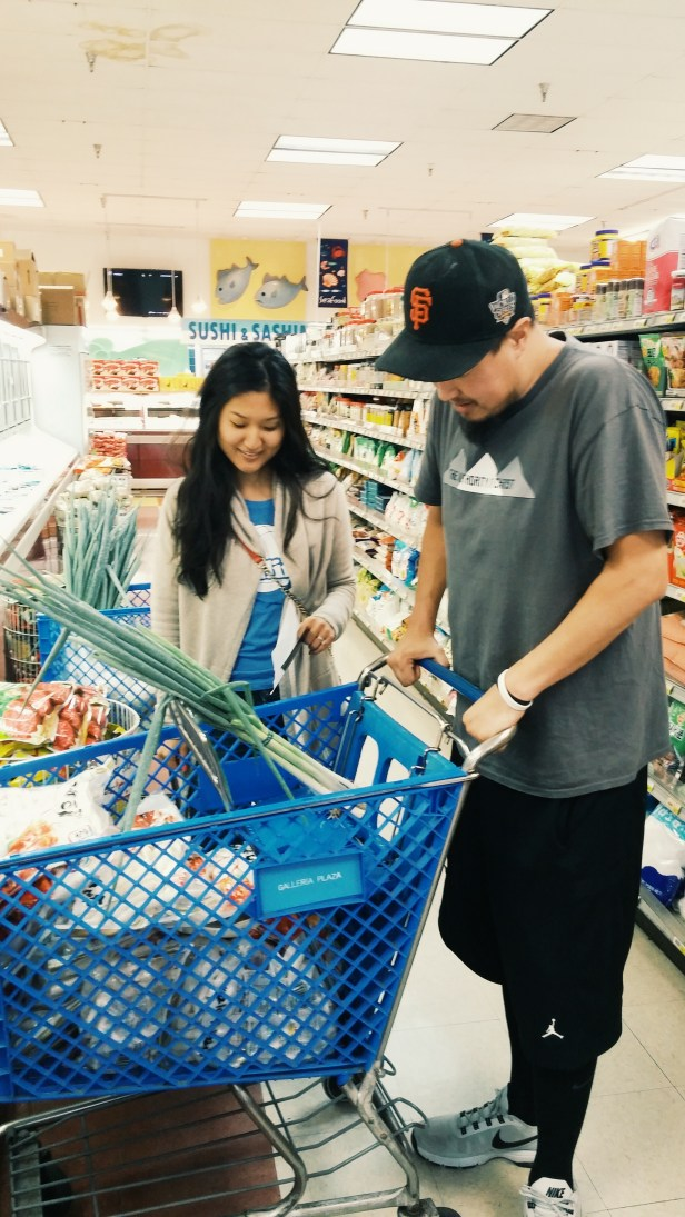 JP was shopping the same time we were LOL
