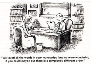 CARTOON ABOUT WRITERS