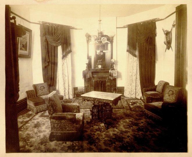 Belle Brezing's parlour