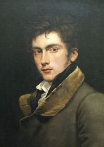 David - self portrait by Carl Joseph Begas