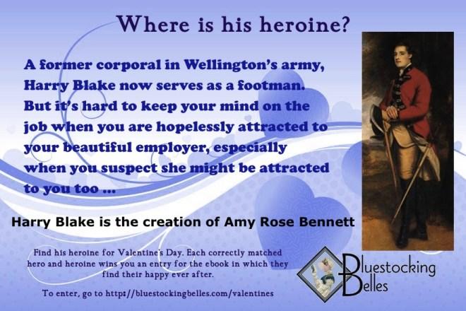 Bennett -Valentine's Day hero Harry Blake