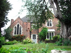 Mirs Rycroft lives in a substantial detached cottage.