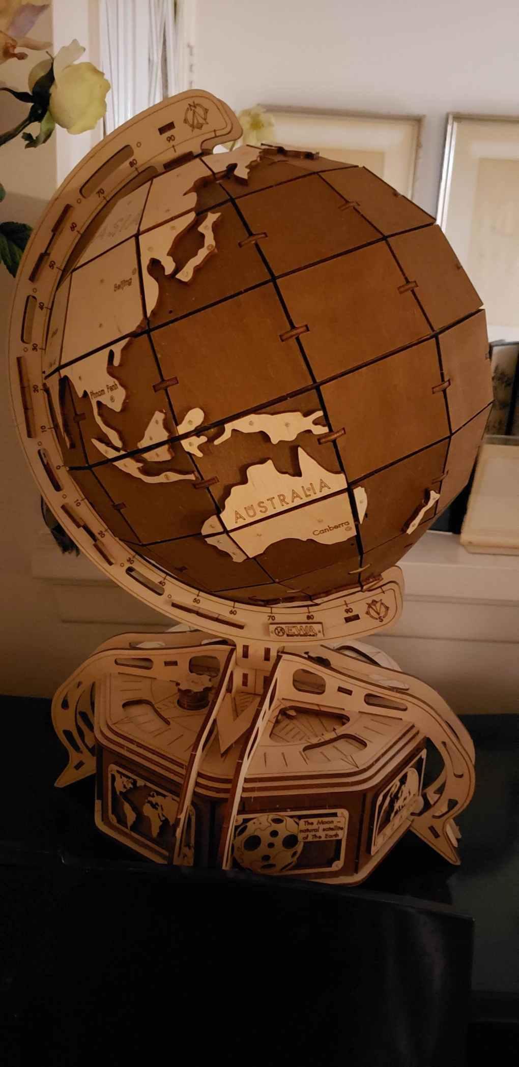 Brown Globe by EWA