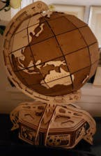 Brown Globe by EWA