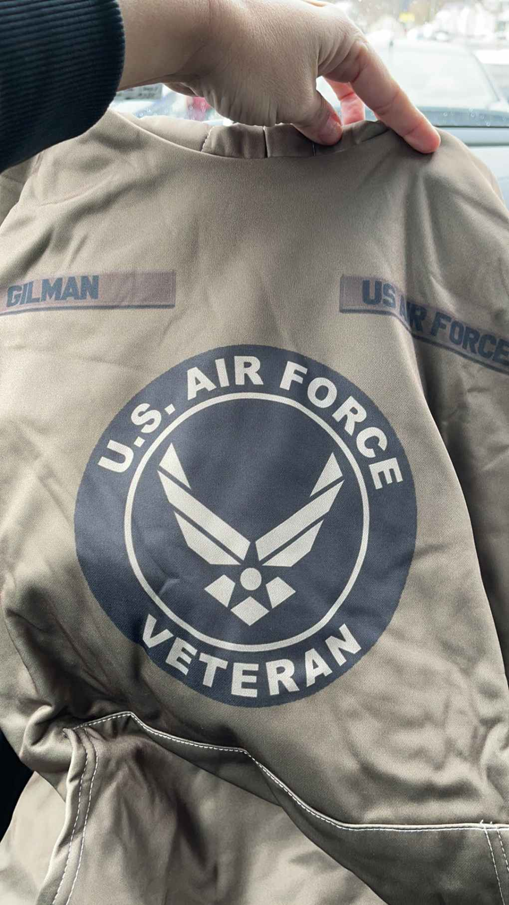 Custom Shirt United States Air Force  veteran H63- All Over Printed(6888)