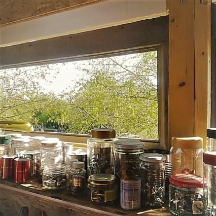 Judi Castille Worshop window view
