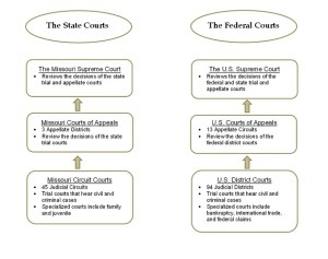 What Is the Difference Between State and Federal Courts