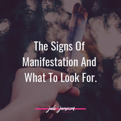 The signs of manifestation – When you feel like its not working