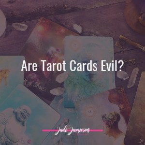 are tarot cards evil