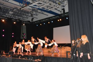Israel Pavilion - Shalom Square. #Folklorama47 #WovenTogether - judimeetsworld