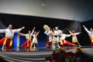 Spirit of Ukraine Pavilion. #Folklorama47 #WovenTogether - judimeetsworld