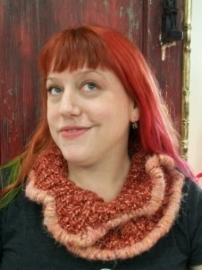Available: Upcycled Infinity Scarf $24