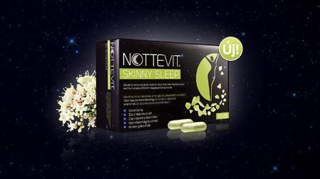Terméktesztelés/Nottevit Skinny Sleep kapszula
