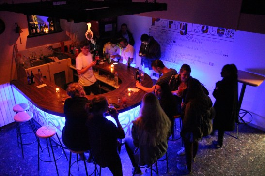 Bar Evening at the Nes Ammim Bar