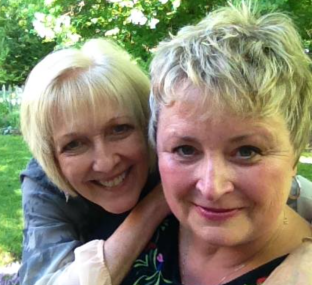 Soul sisters, Robin and Carolynn
