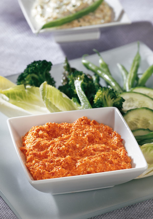feta and roasted red pepper dip  judith finlayson