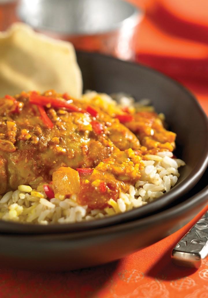 Indian Style Cashew Chicken
