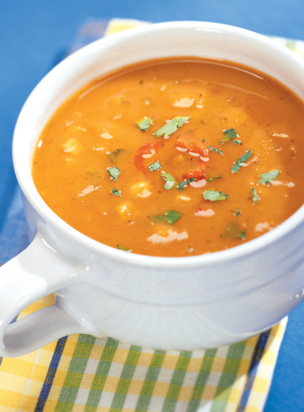 Santa Fe Sweet Potato Soup