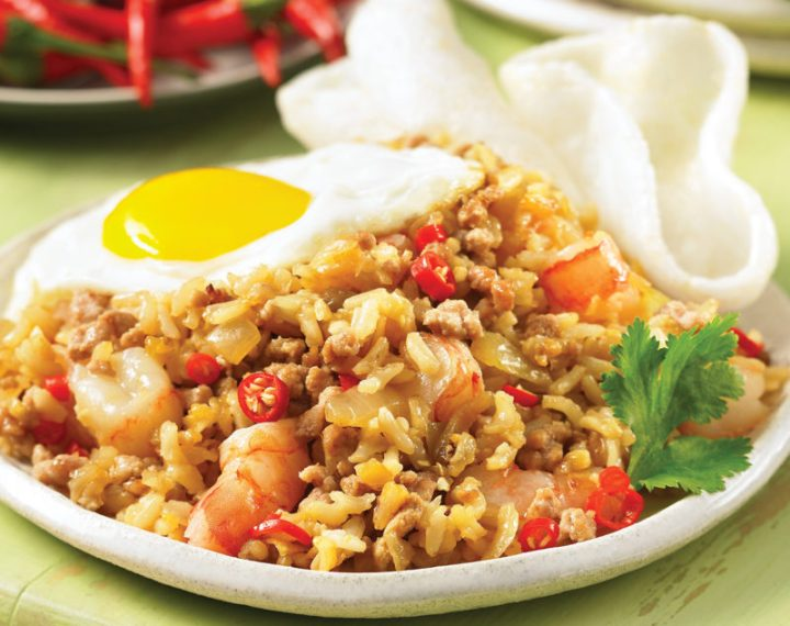 Indonesian Style Fried Rice Nasi Goreng Judith Finlayson