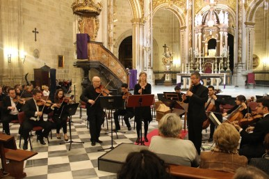 J.S. Bach with Michael Thomas, Vicente Parrilla & Milena Cord-to-Krax