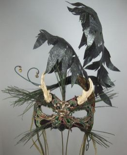 Forest Gnome Masquerade Mask