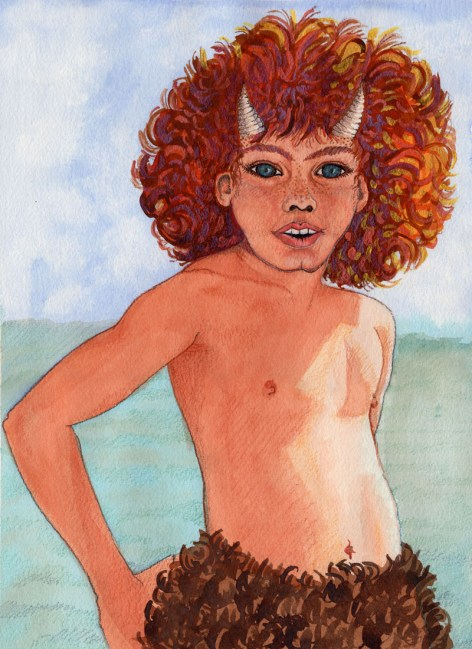 Redheaded Boy Pan net