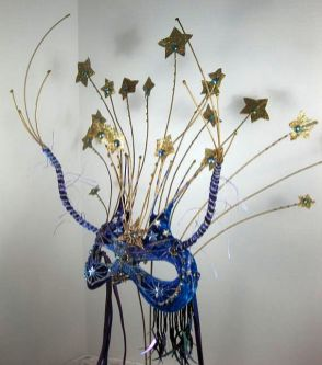 Starry Starry Night Masquerade Mask